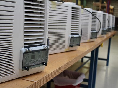 AR-054 ATEX Window air conditioner series production