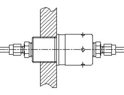 AR-081 ATEX bulkhead connector