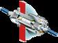 AR-081 ATEX bulkhead connector for Ex d housings